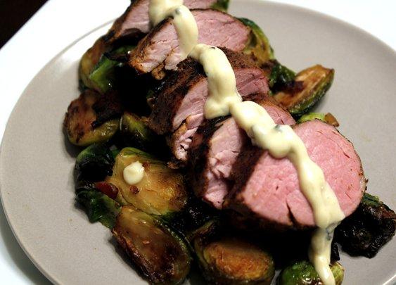 Gorgonzola Pork Tenderloin - Rotio/Food