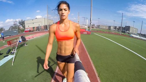 GoPro Pole Vaulting with Allison Stokke «TwistedSifter