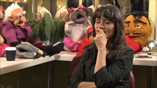 Nina Conti talks about sex, her feelings for Ken and controling what the puppets say. - YouTube