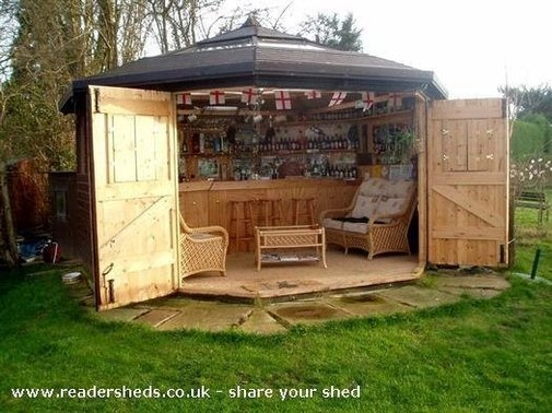 Move Over Man Caves - There's a New Trend on The Rise: Bar Sheds | KegWorks Blog