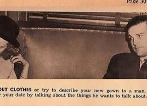 These Dating Tips For Ladies From 1938