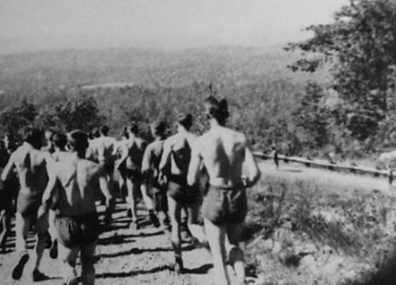 WWII Workout Week: Running and Grass Drills | The Art of Manliness