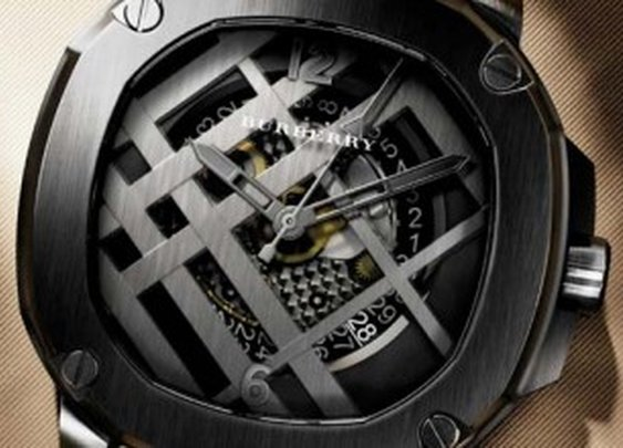 Burberry The Britain Icon Check Watch For Men