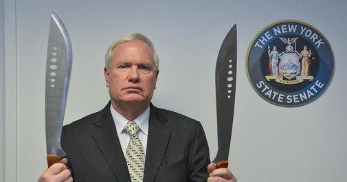 Senator wants to ban machete possession in NY