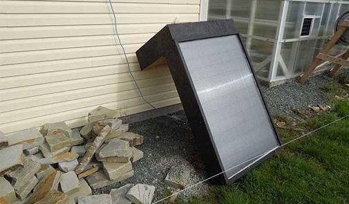 How To Make A Window Mounted Solar Hot Air Furnace   iSeeiDoiMake
