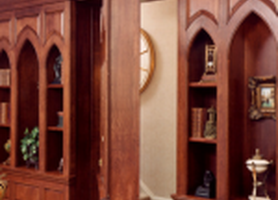 Secret Bookcase Door to Home Office | StashVault