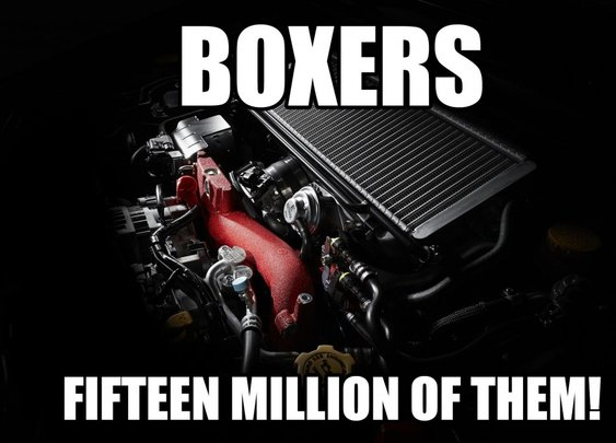 Subaru Builds 15-Millionth Boxer Engine