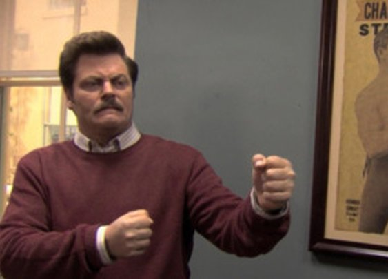 Five From Ron Swanson | Thinking Out Loud | gtylermills