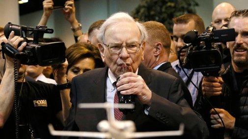 Warren Buffett: 'I Eat Like a Six-Year-Old'