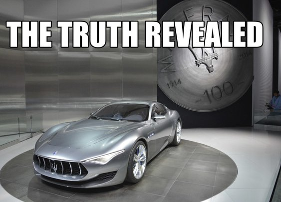 Maserati Alfieri to be 'a True Sports Car'