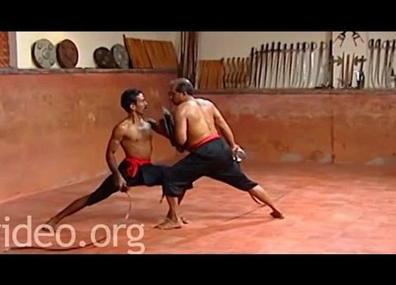 Two Men Fight With Urumis, Extremely Dangerous Flexible Whip-Like Swords From India
