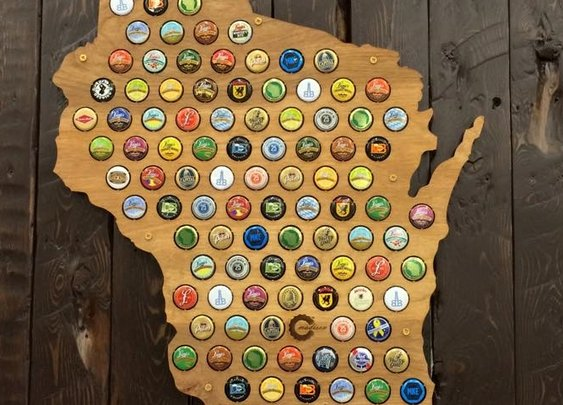 Gallery — Beer Cap Maps