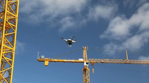 How drones are poised to help build the cities of tomorrow