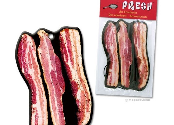 Bacon Air Freshener - Whimsical & Unique Gift Ideas for the Coolest Gift Givers