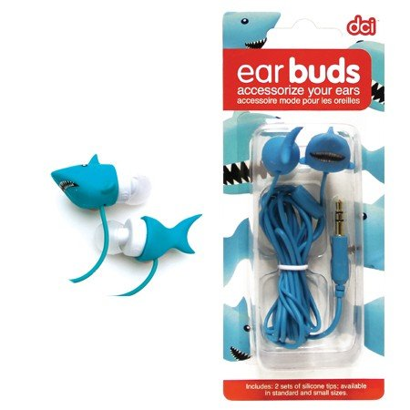 Shark Earbuds - Whimsical & Unique Gift Ideas for the Coolest Gift Givers