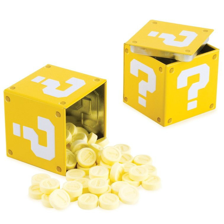 Nintendo Question Mark Box Coin Candies - Whimsical & Unique Gift Ideas for the Coolest Gift Givers
