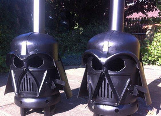 Darth Vader Wood Stove, Anyone?