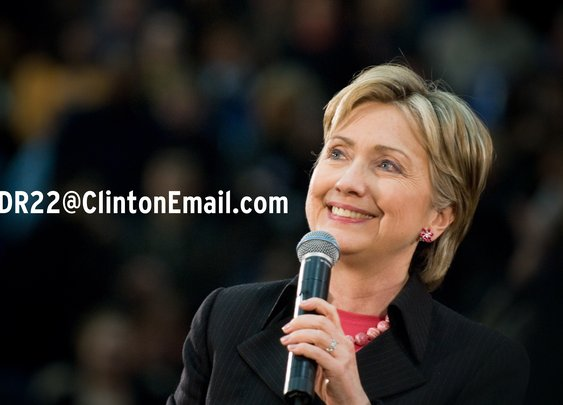 This Is Hillary Clinton's Secret Email: HDR22@ClintonEmail.com