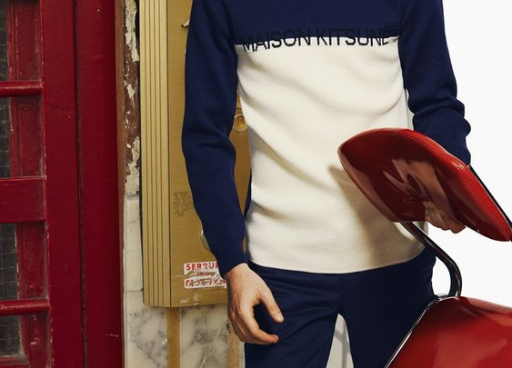 For Men: Maison Kitsuné Spring Summer 2015 Collection
