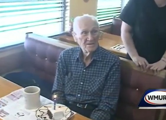 Man Celebrating 101st Birthday At Restaurant That Gives Discounts Based On Age Gets $0.07 Refund On Meal – Consumerist