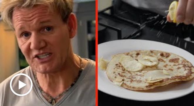 This Is Not How Gordon Ramsay Makes Pancakes - Digg