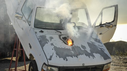 Lockheed Laser Destroys A Truck From A Mile Away | Popular Science