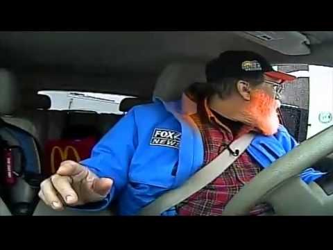 'Can I Get a Fish Sandwich?' Caught in the Drive-Thru During Traffic Report - YouTube