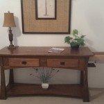 Sofa Table with Secret Drawers   StashVault