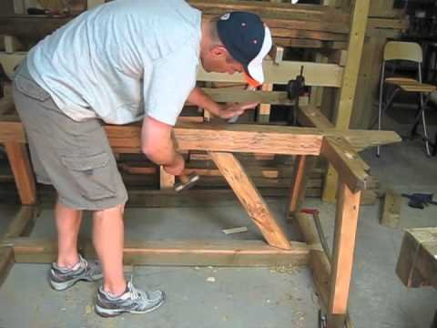 Table Without Nails or Power Tools - YouTube