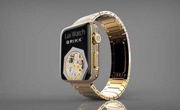 Brikk Unveils A Diamond Encrusted Apple Watch