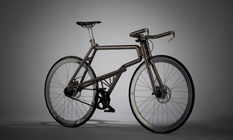 Japanese all-titanium bike evokes the spirit of the Samurai - Images