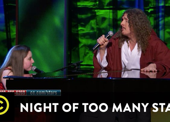"Jodi DiPiazza and ""Weird Al"" Yankovic Perform ""Yoda"""