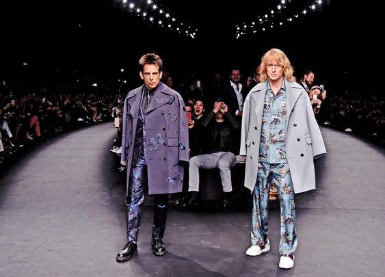Zoolander Hits Paris Fashion Week: Ben Stiller & Owen Wilson Close Valentino in Character