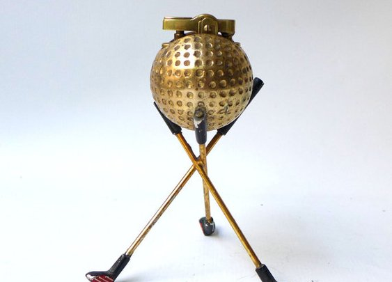 Vintage mid century 1960s Mad men era collectable golf by evaelena