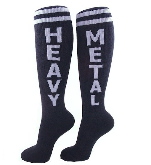 Heavy Metal Unisex Socks - Whimsical & Unique Gift Ideas for the Coolest Gift Givers