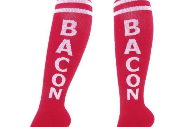 Bacon Unisex Knee Socks by Gumball Poodle - Whimsical & Unique Gift Ideas for the Coolest Gift Givers