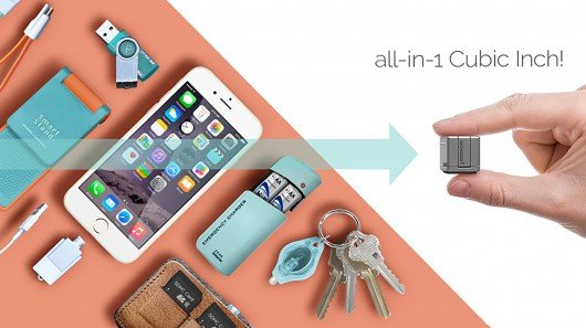 WonderCube accessory provides emergency charging and storage in one