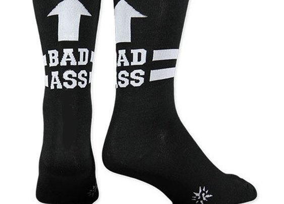 Men's Badass Socks - Crew Socks by Sock it To Me - Whimsical & Unique Gift Ideas for the Coolest Gift Givers