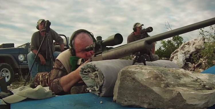 Watch As Expert Takes Aim At A Target Over 2 Miles Away!