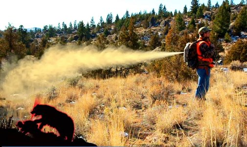 UDAP Back Attack Pack™ Bear Spray backpack attachment can protect you from behind! HD - YouTube