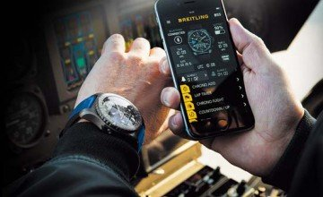 """Breitling Launches the B55 """"Connected Chronograph"""""""