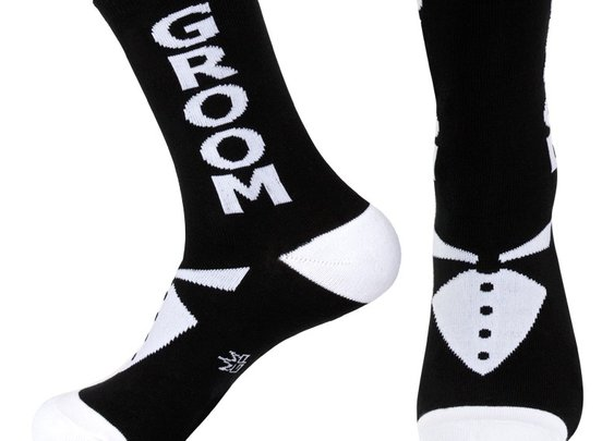Groom Unisex Socks - Whimsical & Unique Gift Ideas for the Coolest Gift Givers