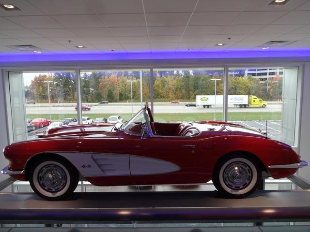 1959 Chevrolet Corvette with less than 5,000 miles? Gorgeous car.