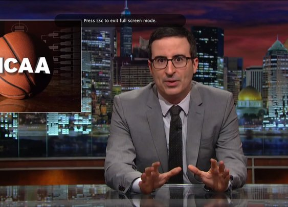 Last Week Tonight with John Oliver: The NCAA (HBO) - YouTube