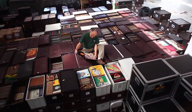 World's biggest record collection to become listenable archive