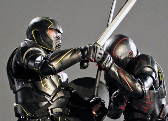 UWM - Unified Weapons Master: Gladiator duels with carbon-fiber suits | Digital Trends