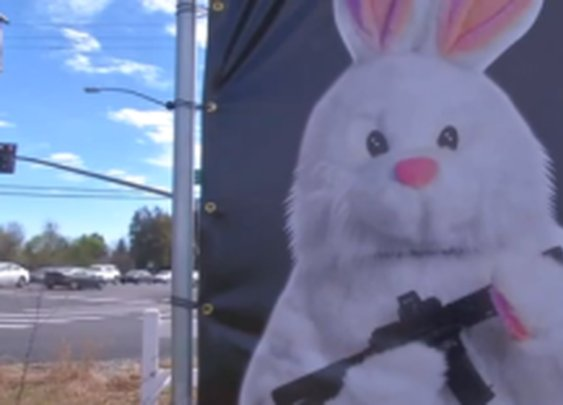 Easter Bunny Prefers The BlackRifle