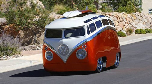 A Look At Ron Berry's Custom '65 VW Bus, The Surf Seeker