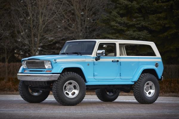 Jeep Chief & Other Moab Easter Concepts: First Look