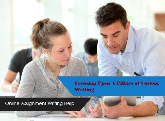 abhisheklal0: Focusing Upon 4 Pillars of Custom Writing - Management Paper